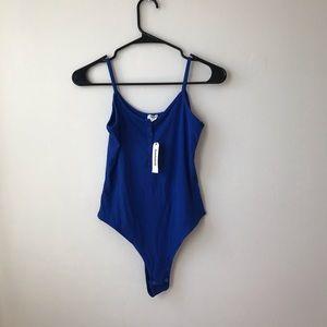 Garage BRAND NEW blue bodysuit
